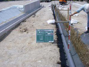下水道管布設工事