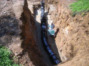 農業用水管布設工事